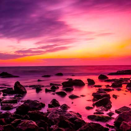 Сиреневый залив